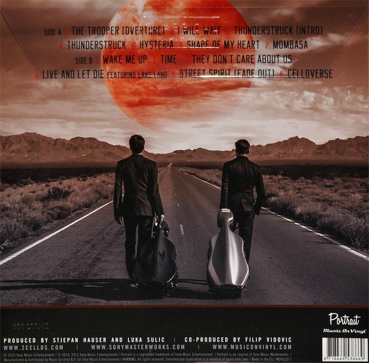 2CELLOS - CELLOVERSE (TRANSPARENT vinyl LP)