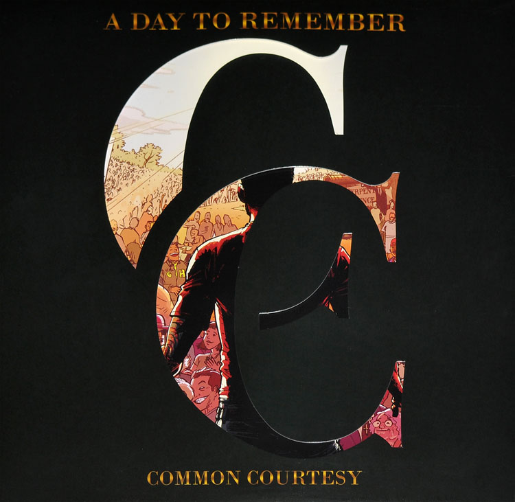 A Day To Remember Common Courtesy 2lp