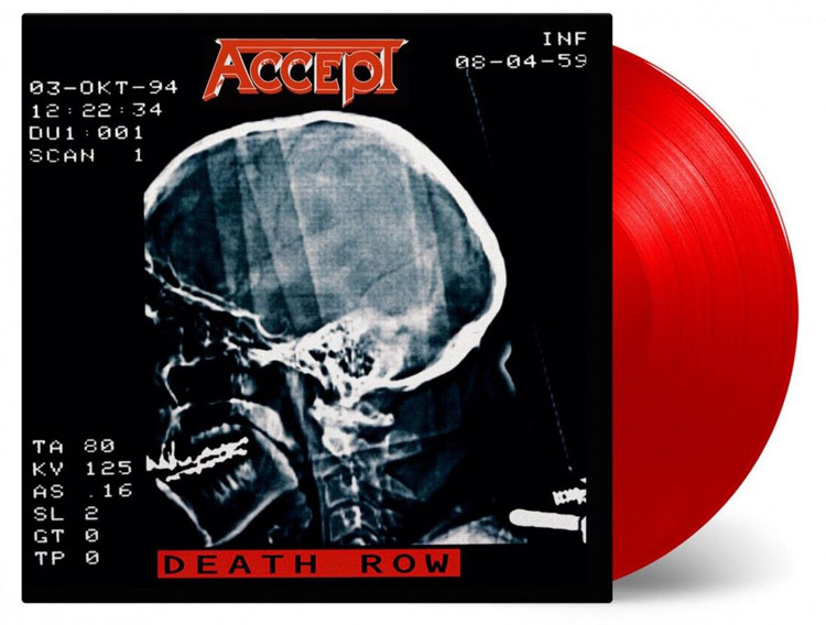 ACCEPT - DEATH ROW (RED vinyl 2LP)