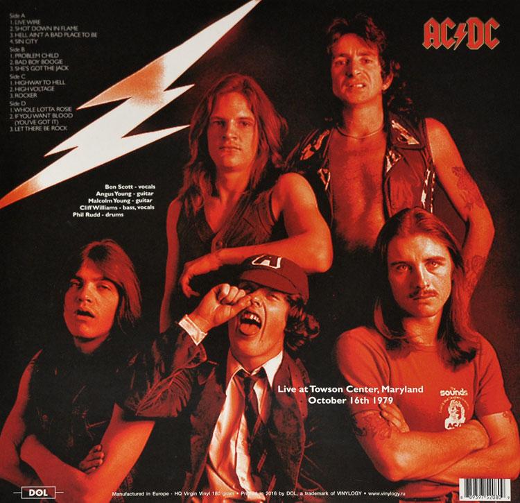 ACDC LIVE 1979 (2LP)