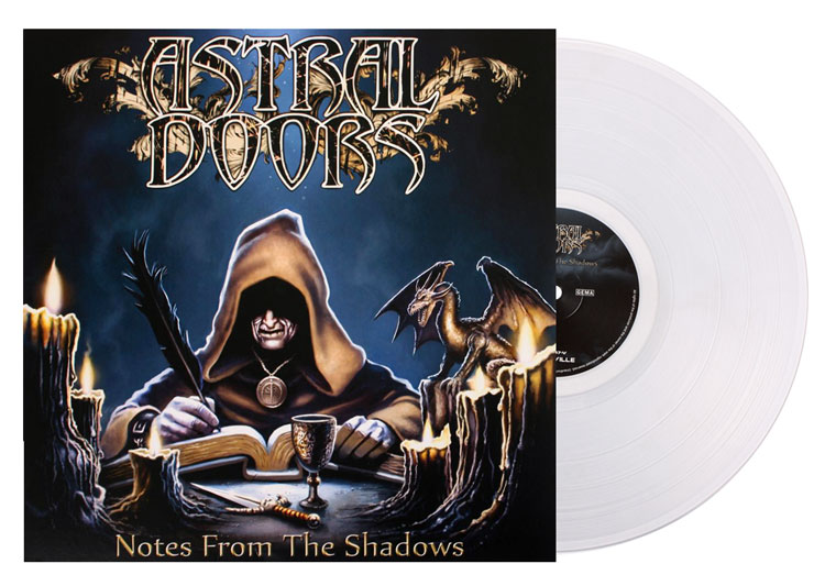 ASTRAL DOORS - NOTES FROM THE SHADOWS (CLEAR vinyl LP)