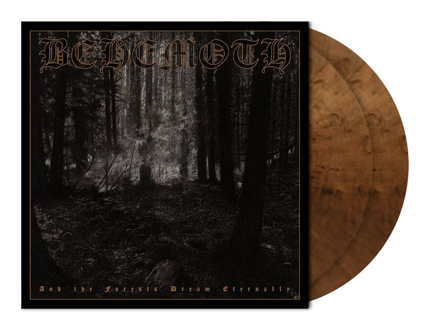 BEHEMOTH - AND THE FORESTS DREAM ETERNALLY (CLEAR SEPIA MARBLED vinyl 2LP)