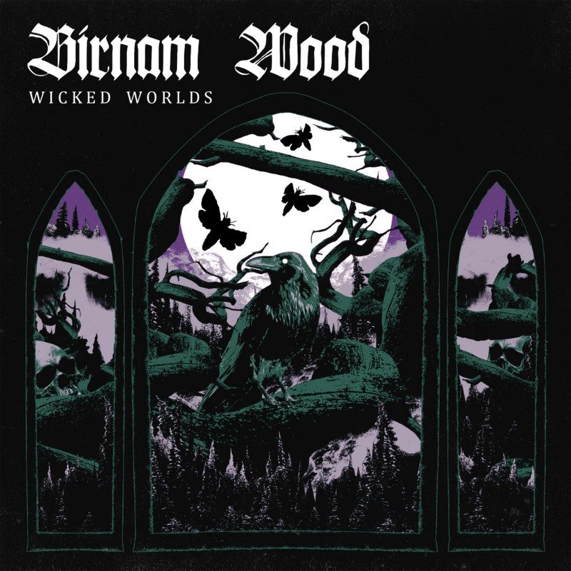 BIRNAM WOOD - WICKED WORLDS (PURPLE/BLUE/WHITE MARBLED vinyl LP)