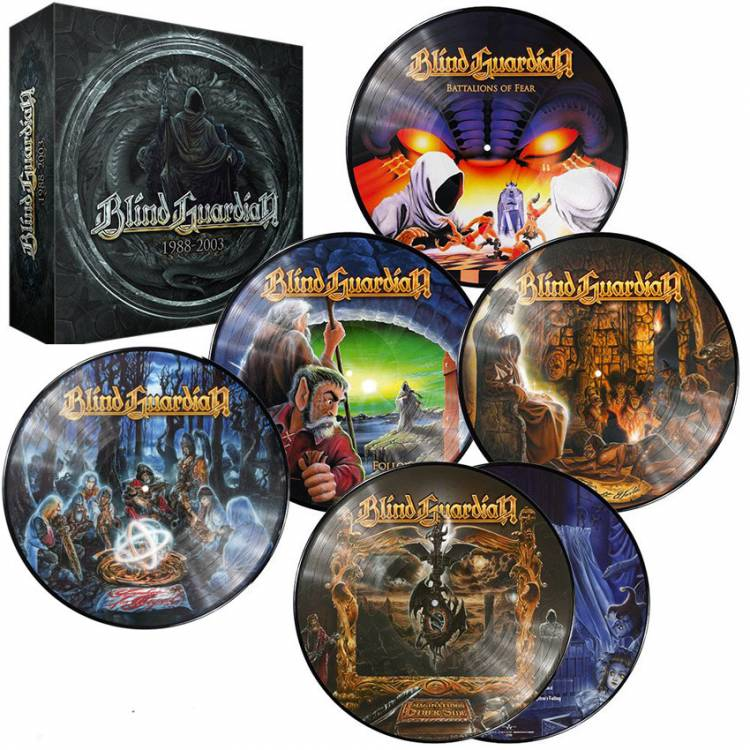 BLIND GUARDIAN - 1988-2003 (PICTURE DISC 6LP BOX SET)