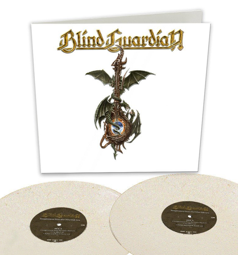 BLIND GUARDIAN - IMAGINATIONS FROM THE OTHER SIDE LIVE (PEARL WHITE vinyl 2LP)