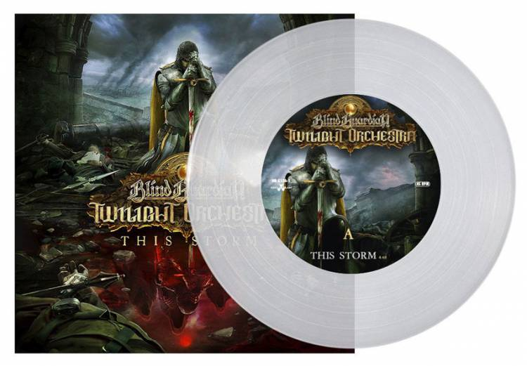 BLIND GUARDIAN TWILIGHT ORCHESTRA - THIS STORM (CLEAR vinyl 7