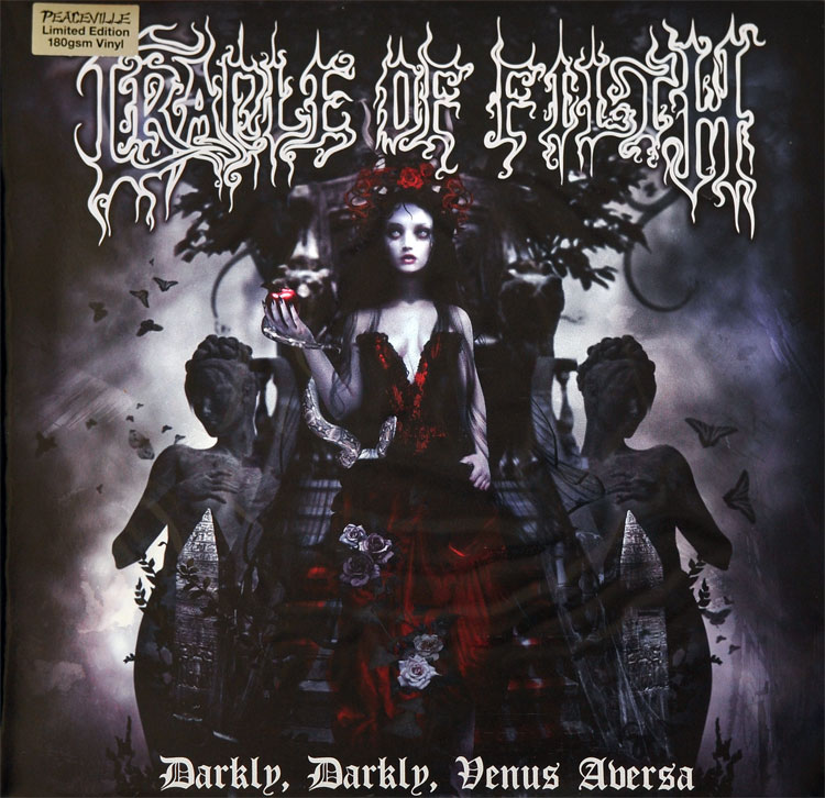 CRADLE OF FILTH - DARKLY DARKLY VENUS AVERSA (RED + BLUE vinyl 2LP)