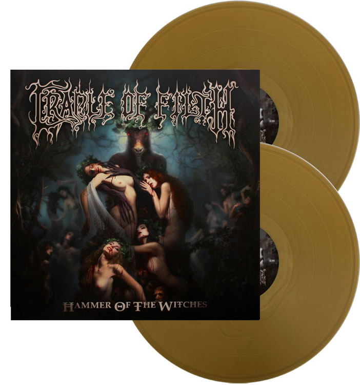 CRADLE OF FILTH - HAMMER OF THE WITCHES (GOLD vinyl 2LP)