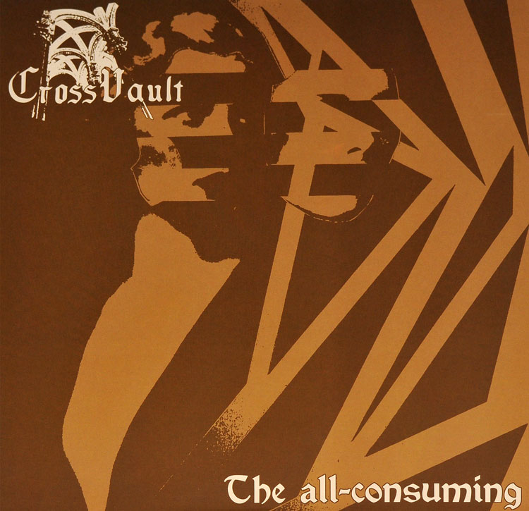 CROSS VAULT - THE ALL-CONSUMING (BROWN vinyl LP)