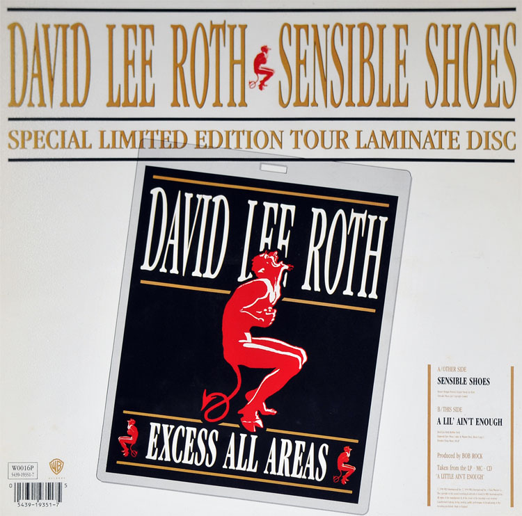 DAVID LEE ROTH - SENSIBLE SHOES (PICTURE DISC 7