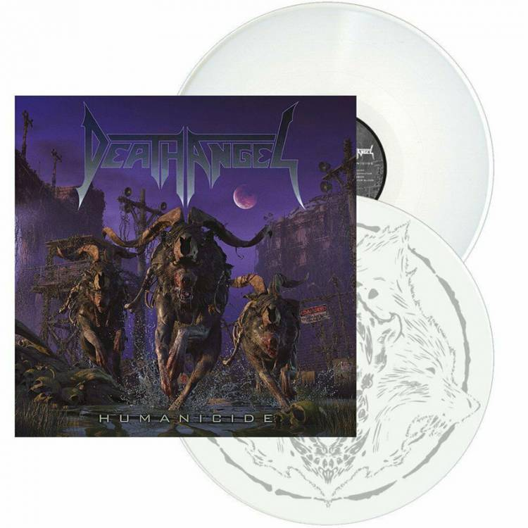 DEATH ANGEL - HUMANICIDE (WHITE vinyl 2LP)