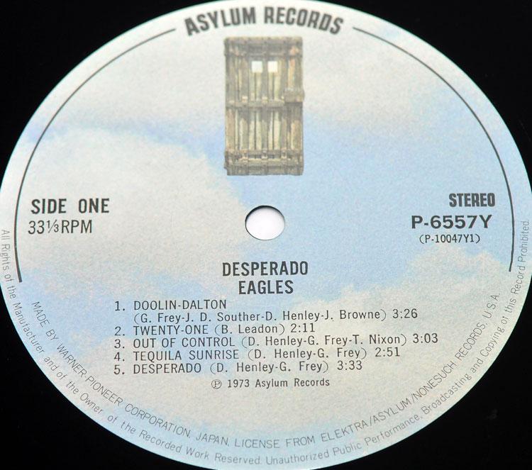 Eagles Desperado Lp