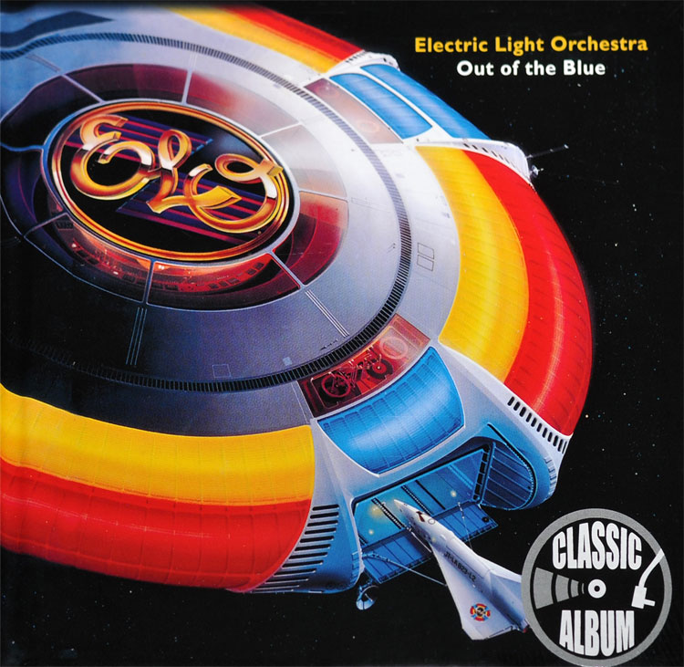ELECTRIC LIGHT ORCHESTRA - OUT OF THE BLUE ALBUM LYRICS