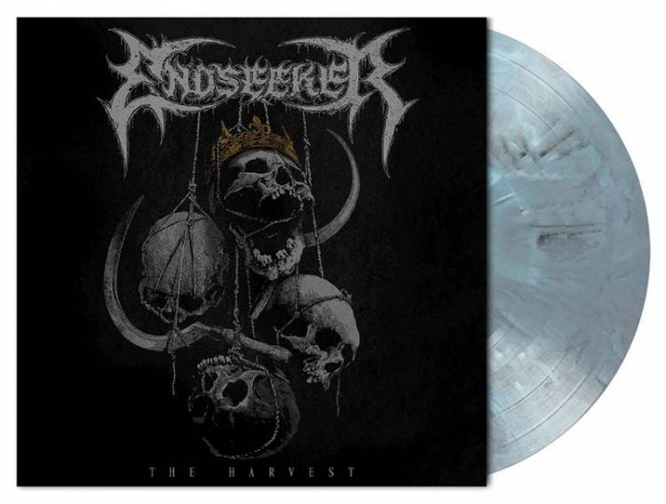 ENDSEEKER - THE HARVEST (LIGHT GREY/BLUE MARBLED vinyl LP)