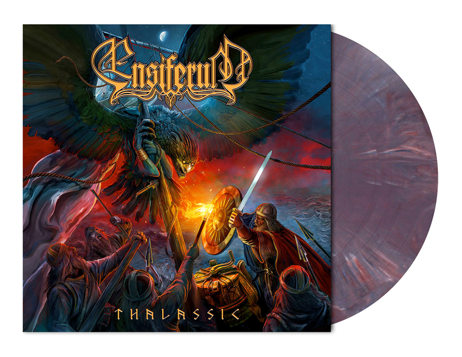 ENSIFERUM - THALASSIC (PURPLE/BLUE MARBLED vinyl LP)