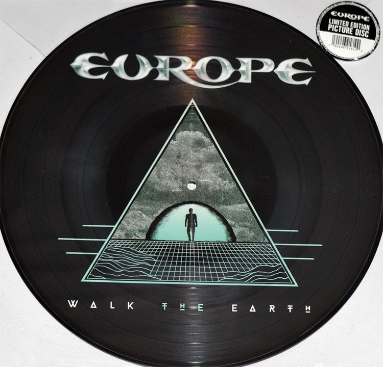 EUROPE - WALK THE EARTH (PICTURE DISC LP)