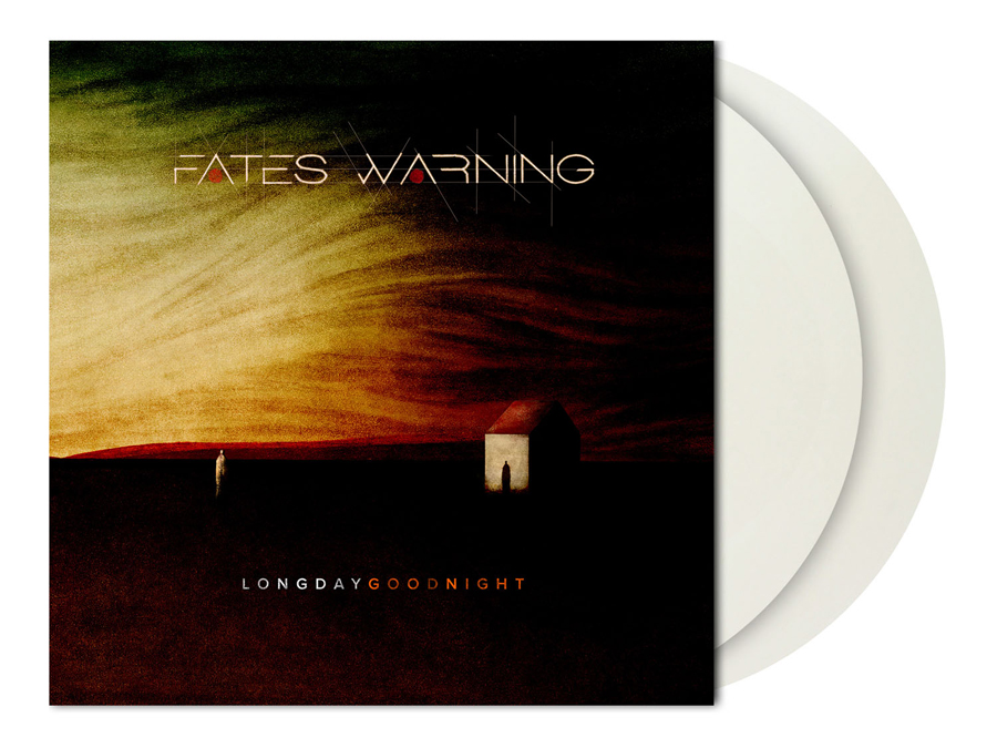 FATES WARNING - LONG DAY GOOD NIGHT (CLEAR/WHITE MARBLED vinyl 2LP)