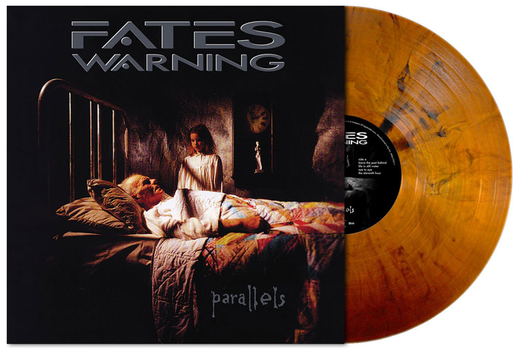 FATES WARNING - PARALLELS (CLEAR LIGHT SALMON vinyl LP)