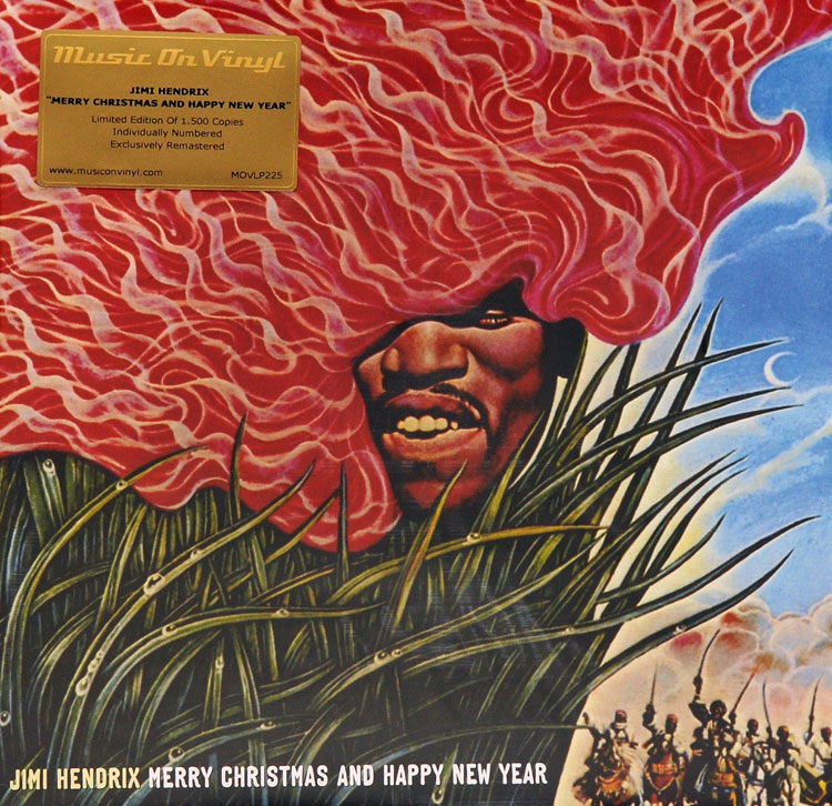 JIMI HENDRIX - MERRY CHRISTMAS AND HAPPY NEW YEAR (10\
