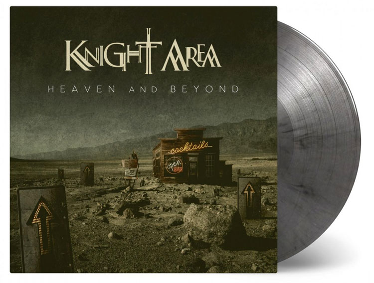 KNIGHT AREA - HEAVEN AND BEYOND (SILVER/BLACK MIXED vinyl 2LP)