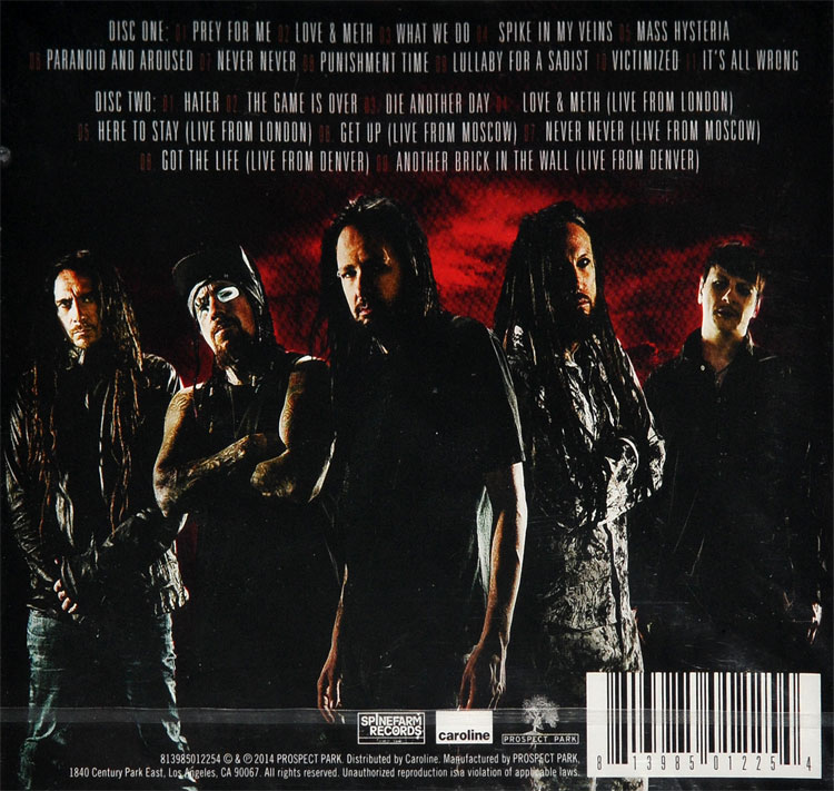 album de korn the paradigm shift
