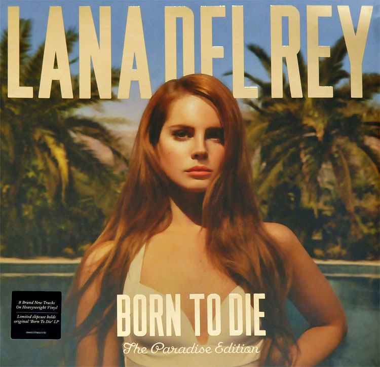 Lana Del Rey Born To Die The Paradise Edition Lp