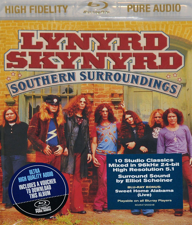 LYNYRD SKYNYRD - SOUTHERN SURROUNDINGS (BLU-RAY AUDIO)