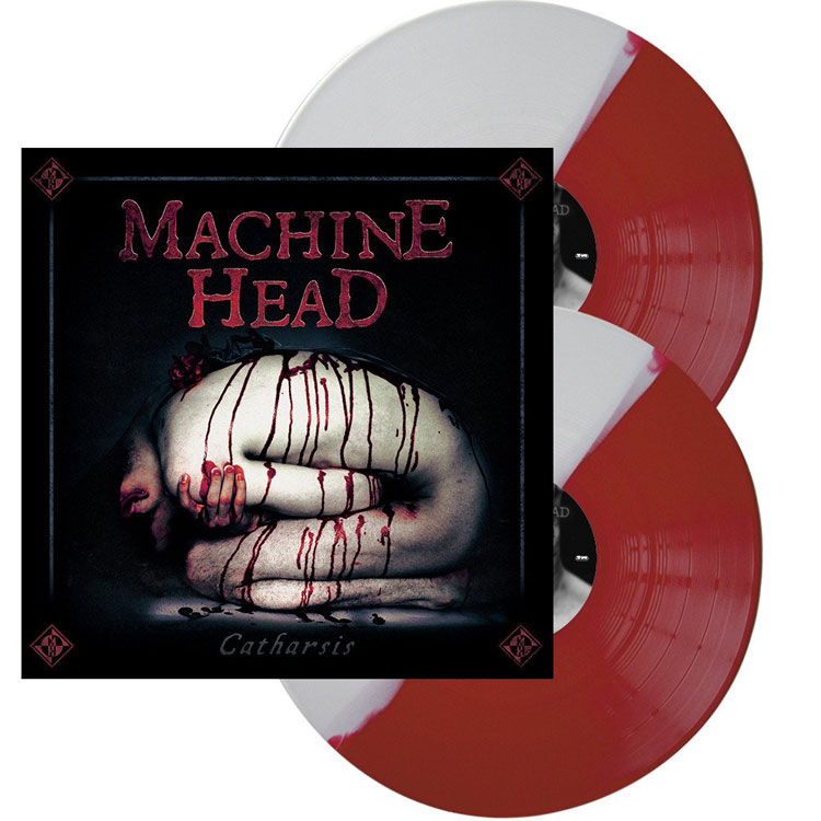 MACHINE HEAD - CATHARSIS (BI-COLOURED vinyl 2LP)
