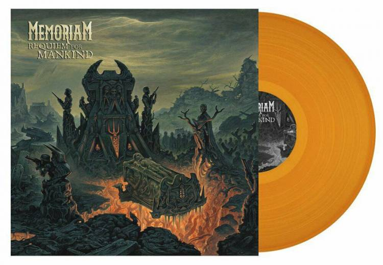 MEMORIAM - REQUIEM FOR MANKIND (ORANGE vinyl LP)