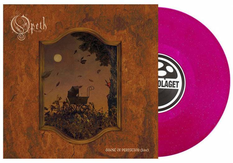 OPETH - GHOST OF PERDITION (LIVE) (PINK SPARKLE vinyl 10