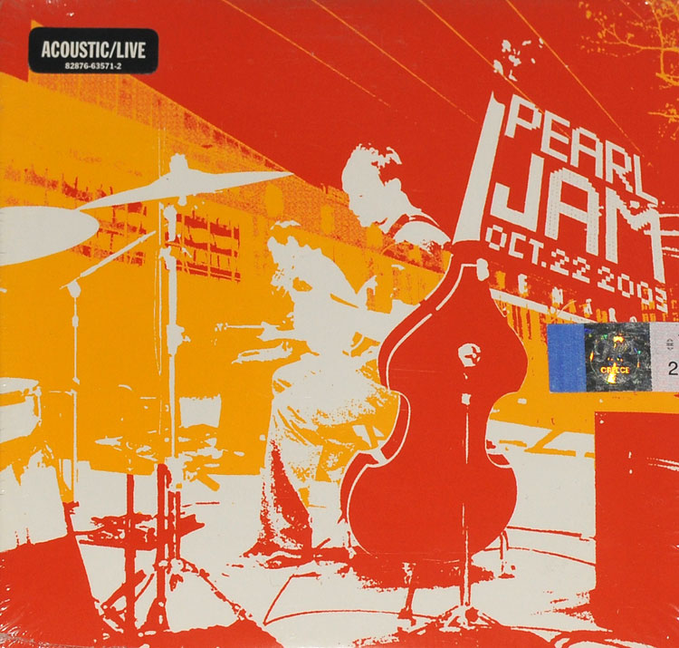 PEARL JAM - BENAROYA HALL OCT 22ND 2003 (2CD)