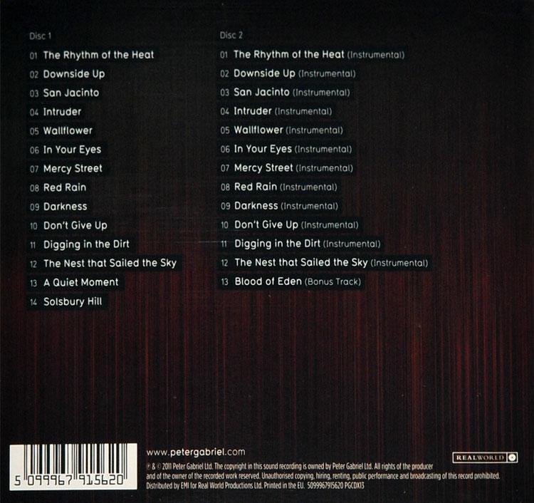 Peter Gabriel New Blood 2cd