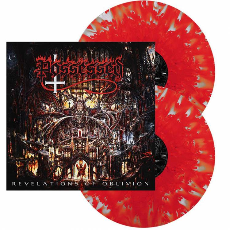POSSESSED - REVELATIONS OF OBLIVION (SPLATTER vinyl 2LP)