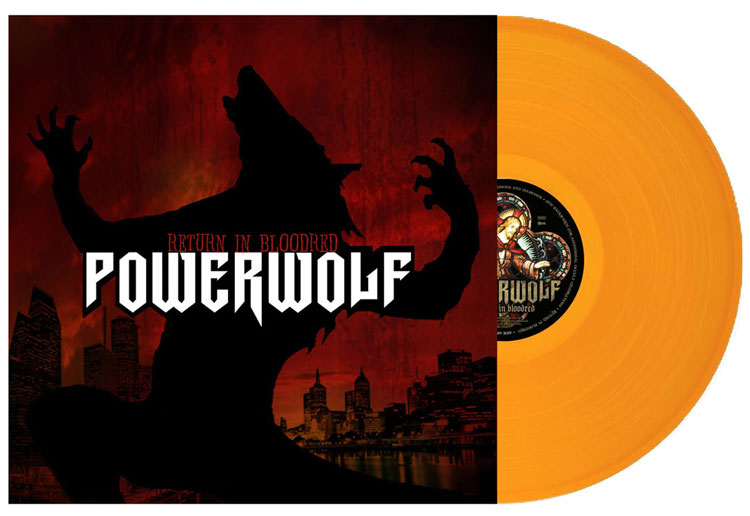 POWERWOLF - RETURN IN BLOODRED (ORANGE vinyl LP)