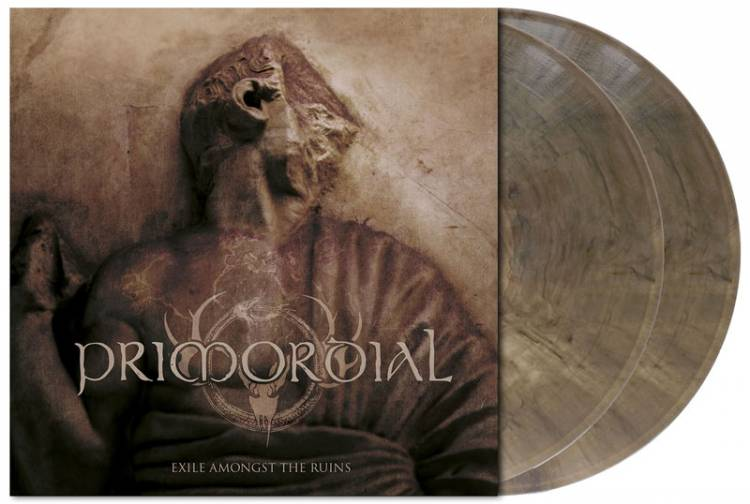 PRIMORDIAL - EXILE AMONGST THE RUINS (CLEAR GRAY-BROWN MARBLED vinyl 2LP)