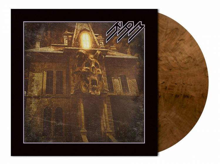 RAM - THE THRONE WITHIN (CLEAR/BROWN MARBLED vinyl LP)