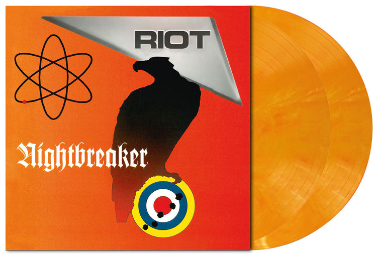 RIOT - NIGHTBREAKER (PASTEL ORANGE MARBLED VINYL 2LP)