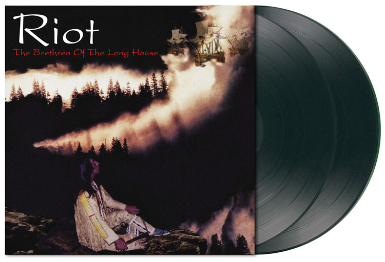RIOT - THE BRETHREN OF THE LONG HOUSE (FOREST GREEN vinyl 2LP)