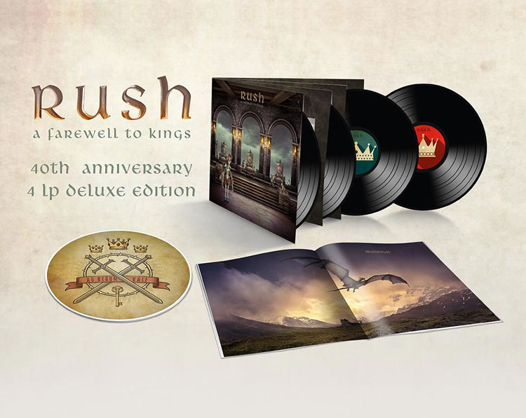 RUSH - A FAREWELL TO KINGS (4LP)