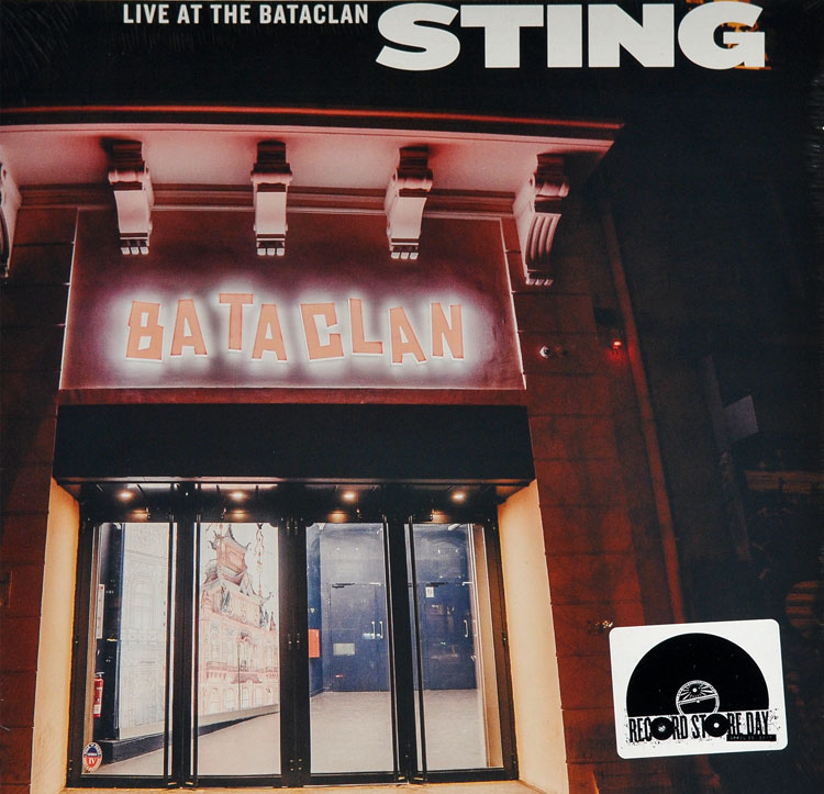 STING - LIVE AT THE BATACLAN (LP)