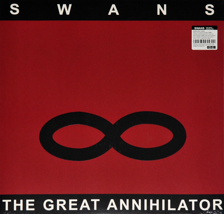 SWANS - THE GREAT ANNIHILATOR (2LP)