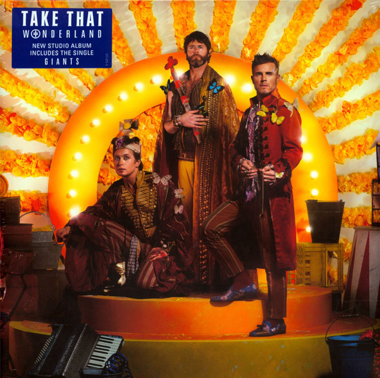 TAKE THAT - WONDERLAND (LP)