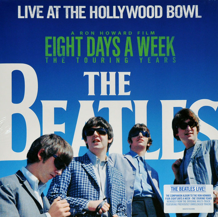 THE BEATLES - LIVE AT THE HOLLYWOOD BOWL (LP)