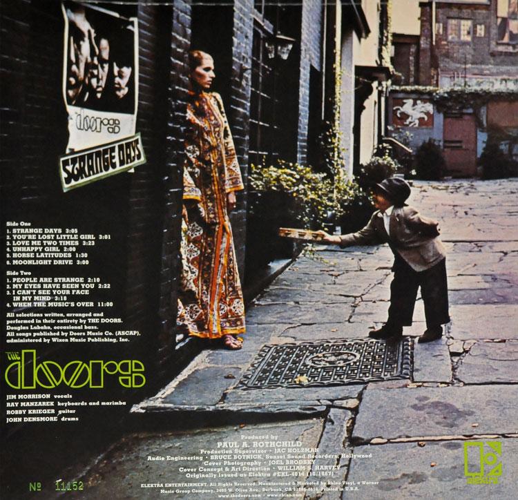 sc 1 st  Vinyliciously & THE DOORS - STRANGE DAYS (LP)