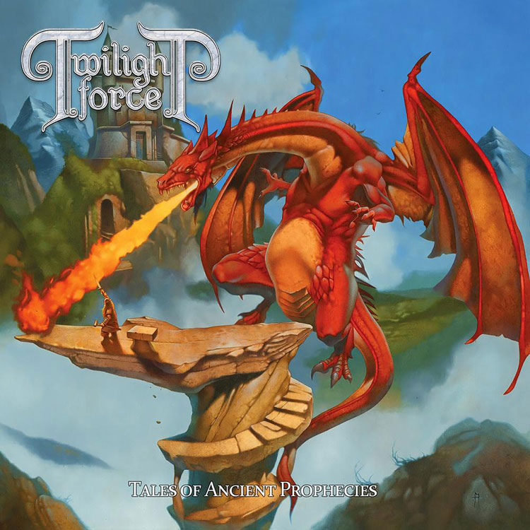 TWILIGHT FORCE - TALES OF ANCIENT PROPHECIES (BLUE/WHITE SPLATTER vinyl LP)