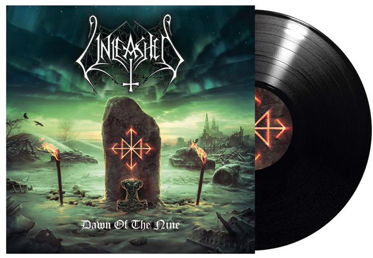 UNLEASHED - DAWN OF THE NINE (LP)