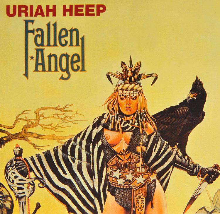 Uriah Heep Fallen Angel Lp