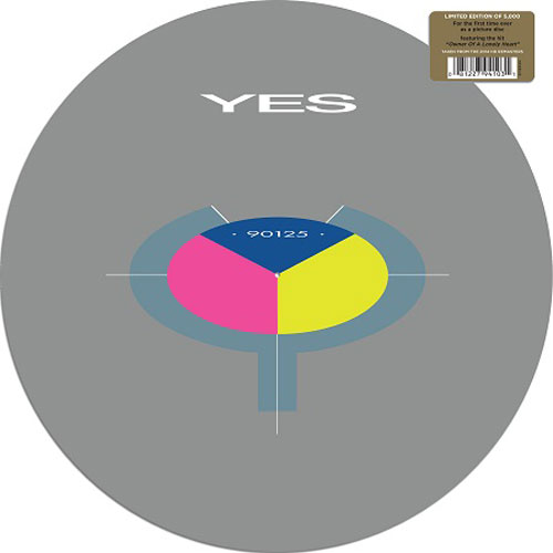 YES - 90125 (PICTURE DISC LP)