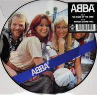 "ABBA - THE NAME OF THE GAME/I WONDER (PICTURE DISC 7"")"