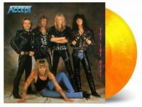 ACCEPT - EAT THE HEAT (FLAMING vinyl LP)